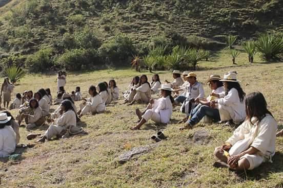ONIC - El Pueblo Wiwa se movilizó por la paz. - photo#13