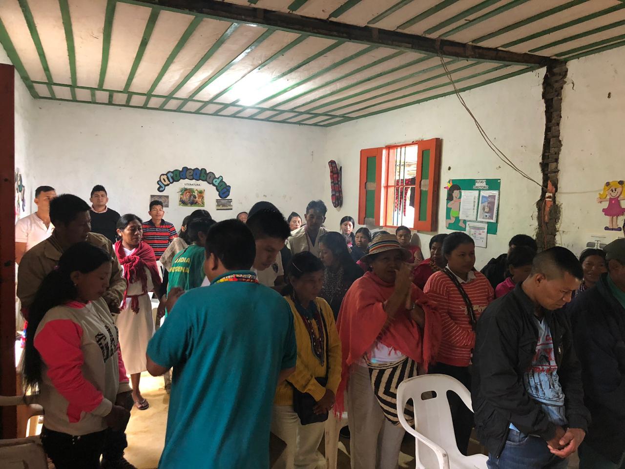 En el Resguardo Karabijua en Quindío, inicia el Encuentro de  Fortalecimiento Organizativo de ORIQUIN